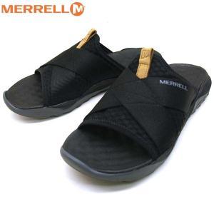 メレル MERRELL 1SIX8 TELLCHILL SLIDE AC+ 1シックス8 テルチル スライド エーシープラス J94175 サンダル 黒 メンズ|masuya92