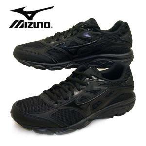 ミズノ MIZUNO MAXIMIZER 21 マキシマイザー 190209 黒/黒 ランニングシューズ ジュニア/レディース/メンズ|masuya92