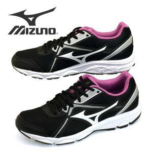 ミズノ MIZUNO MAXIMIZER 22 マキシマイザー K1GA200160 黒紫 ランニングシューズ 3E相当 レディース|masuya92