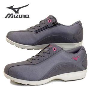 ミズノ MIZUNO LS802 B1GF183203 灰 ウォーキング カジュアルシューズ レディース|masuya92
