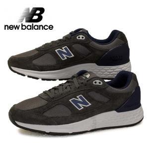 ニューバランス New Balance MW1880 D1 EEEE ワイド ウォーキング シューズ 灰紺 メンズ|masuya92