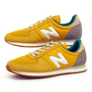 ニューバランス New Balance U220 DD2 レトロランニングシューズ スニーカー 黄 0220 レディース/メンズ|masuya92
