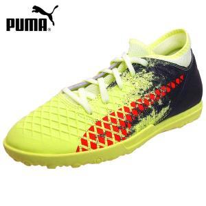 [36%OFF]プーマ PUMA FUTURE 18.4 TT Jr 104351-01 フューチャー ターフトレーニング サッカー スパイク 黄 ジュニア/レディース|masuya92
