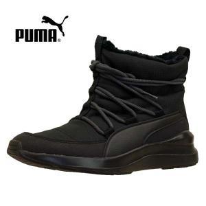 プーマ PUMA ADELA WINTER BOOT 369862-01 アデラ ウィンター ブーツ 黒 レディース|masuya92