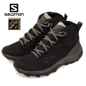 サロモン SALOMON OUTline Mid GTX W 404844 軽量 登山靴 ゴアテックス 防水 ハイキング レディース|masuya92