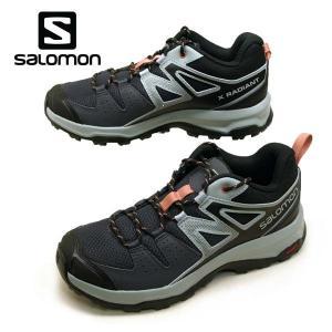 サロモン SALOMON X RADIANT W 406760 軽量 ハイキングシューズ レディース|masuya92