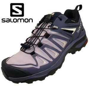 サロモン SALOMON X ULTRA 3 GTX W 406761 紫 ゴアテックス 防水 ハイ...