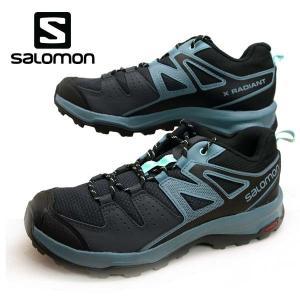 サロモン SALOMON X RADIANT W 407423 軽量 ハイキングシューズ レディース masuya92
