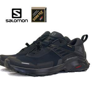 サロモン SALOMON X RAISE GTX 409737 黒 ハイキング 登山靴 ゴアテックス 軽量 防水 メンズ|masuya92