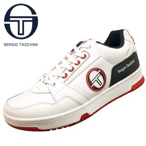 セルジオ タッキーニ Sergio Tacchini 0009 PRIME SHOTII プライム ショット 白 ローカット コートスニーカー メンズ|masuya92