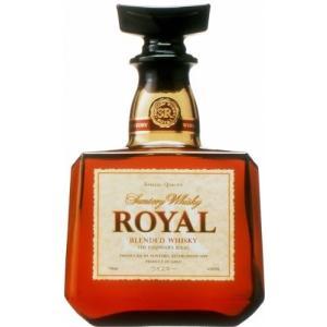 日本サントリーサントリーウイスキーローヤル角瓶43%700ml国産ウイスキーsuntoryroyal|masuyasaketen