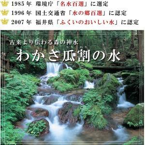 あすつく非対応 常温便 特産品 福井県 ご当地ミネラルウォーター!日本の名水百選、わかさ瓜割の水(2L×6本)[軟水/飲料水/産直/送料無料]|masuyone|06