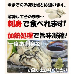 ギフト カキ 福かき寄せ&かき込む 賀喜 旨味密封♪調理も楽&安心 広島産スチーム蒸し牡蠣1kg 約60粒 剥き身 IQF 冷凍便 送料無料|masuyone|03