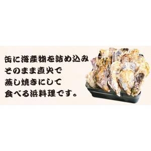 ※在庫切れ※ 牡蠣 カキ 豪快 瀬戸内かきカンカン焼き(2kg 25粒前後 4-5人前) (缶 ナイフ 軍手 取説 セット) 冷凍便 送料無料|masuyone|04