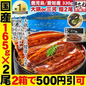 [愛知県三河 うなぎ ウナギ 鰻]歴史と伝統も味わいたいなら本場三河!国産特大うなぎ蒲焼き 頭無し200g前後(約30cm)×2尾[冷凍便/送料無料]|masuyone