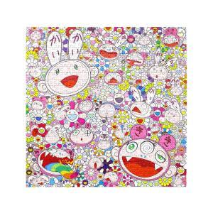 村上隆 Jigsaw Puzzle / Kaikai & Kiki & FLOWERS 650Peaces ジグソーパズル /カイカイとキキ フラワー 650pcs お花 masyou-store