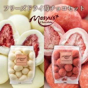 フリーズドライ苺チョコセット|masyuchoco