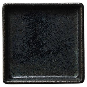 カネスズ 和 WA-ware (藍潤 うるみ)9cm切立正角皿|matakatsu