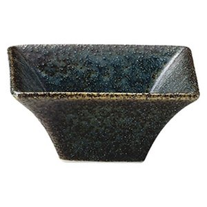 カネスズ 和 WA-ware (藍潤 うるみ)7cm四角ボール|matakatsu