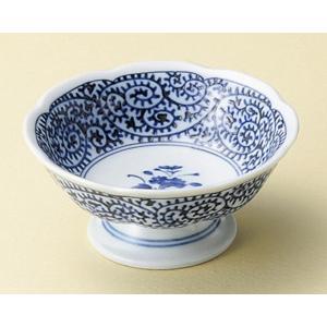 陶雅  高台小鉢タコ唐草高台小鉢|matakatsu