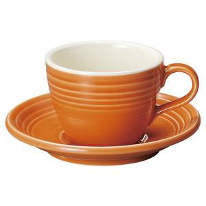 KOYO オービットマンダリンオレンジコーヒーカップ&ソーサー|matakatsu