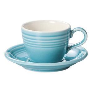 KOYO オービットターコイズブルーコーヒーカップ&ソーサー|matakatsu