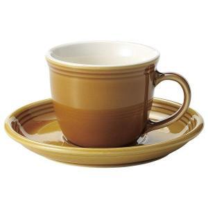 KOYO ストリームラインハニーベージュマグカップ&ソーサー|matakatsu
