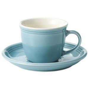 KOYO ストリームラインアクアブルーマグカップ&ソーサー|matakatsu