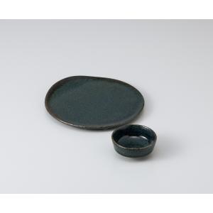器蔵 刺身特選藍潤(うるみ)5.5刺身皿画像の大きい器のみの価格です。|matakatsu