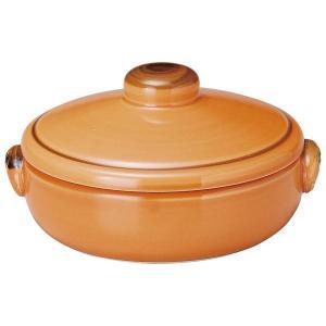 KOYO 耐熱陶器クジーネ グロスオレンジ 17.5cmキャセロール|matakatsu