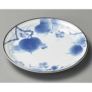 陶雅  丸皿(中)山帰来6.5皿|matakatsu