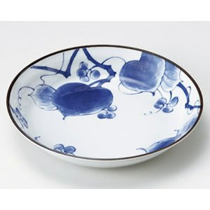 陶雅  丸皿(小)山帰来7.0深皿|matakatsu