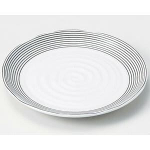 陶雅  丸皿(小)ドリームライン白7.0皿|matakatsu