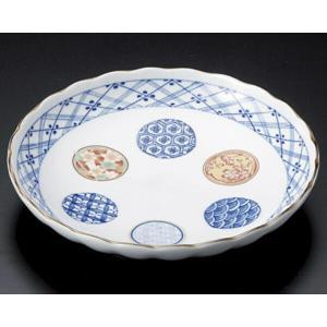 陶雅  丸皿(小)錦丸紋6.0皿|matakatsu