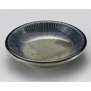 陶雅  小皿・手塩皿(丸)益子千本十草深口3.0皿|matakatsu