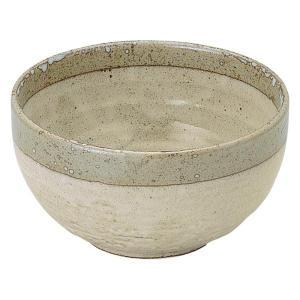 美濃の和食器 花伝白露 石目5.5丼|matakatsu