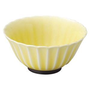 美濃の和食器 花伝かすみ 黄 10.5cmボウル|matakatsu