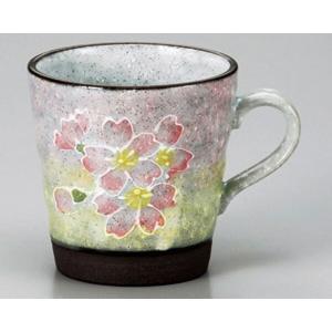 陶雅  マグカップ一珍桜マグP|matakatsu