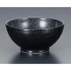 陶雅  中華丼黒マット丸丼|matakatsu
