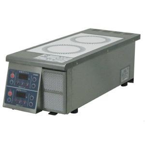 中部コーポレーションIH調理器縦型2連 3kwタイプ DL30SAA|matakatsu