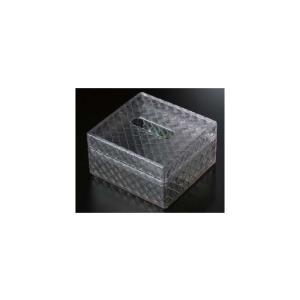 ティッシュBOX(小)業務用料理道具・キッチン用品の専門店マタカツです。陶器、樹脂、木工などあらゆる器を扱っております。クリアOM|matakatsu