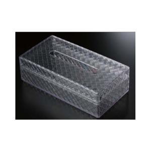 ティッシュBOX(大)業務用料理道具・キッチン用品の専門店マタカツです。陶器、樹脂、木工などあらゆる器を扱っております。クリアOM|matakatsu