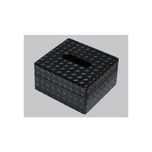 ティッシュBOX(小)業務用料理道具・キッチン用品の専門店マタカツです。陶器、樹脂、木工などあらゆる器を扱っております。艶消ブラック|matakatsu