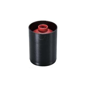 耐熱 筒型落し蓋箸洗椀 朱/黒 内黒|matakatsu