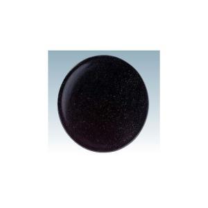 回転寿司皿 15cm耐熱ABS 黒 パール塗|matakatsu