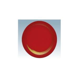 回転寿司皿 15cm耐熱ABS 赤 一筆|matakatsu