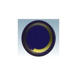 回転寿司皿 15cm耐熱ABS 紺 一筆|matakatsu
