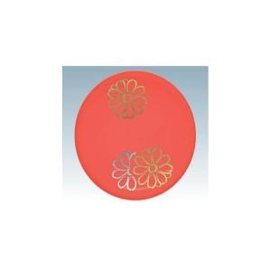 回転寿司皿 15cm耐熱ABS フラワー オレンジ|matakatsu