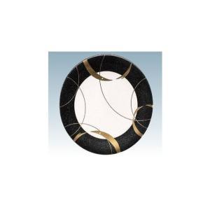 回転寿司皿 15cm耐熱ABS ブラックしゃぼん玉|matakatsu