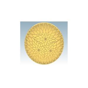 回転寿司皿 15cm耐熱ABS 黄に金花|matakatsu